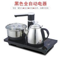 可移动泡茶几桌茶车阳台实木家用小茶台乌金石茶盘茶水柜烧水壶架 组装