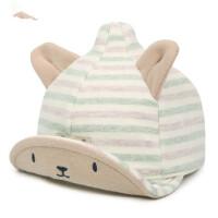 宝宝翘舌帽 男女童鸭舌帽女孩鸭舌帽宝宝帽新生儿胎帽