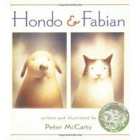 Hondo and Fabian 红豆与菲比 2003年凯迪克银奖绘本 ISBN 9780312367473