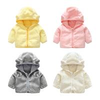 宝宝衣服装1岁9个月童上衣新生儿外套冬季婴儿连帽外出服
