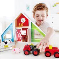 【特惠】Hape百变农场3岁以上情景模拟婴幼玩具过家家玩具 E3015