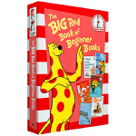 The Big Red Book of Beginner Books 6书精装合集Stop That Ball! Th