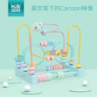 可优比宝宝绕珠儿童积木串珠早教1-2-6岁男女孩婴儿智力木质玩具
