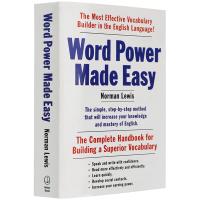 正版现货Word Power Made Easy单词的力量英文原版 英语词汇书籍 可搭英英韦氏词典字典韦小绿merri