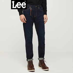 Lee男装18春夏商场同款深蓝色牛仔裤男L127262UZ4LP