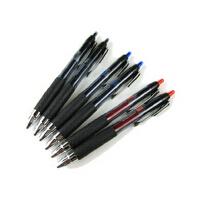 三菱UMN-207中性笔 水性笔 黑 蓝 红色书写水笔0.5mm防滑