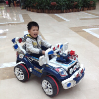 华达 越野多档调速 外接MP3儿童电动车四轮遥控可坐电动汽车童车