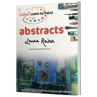 英文原版 艺术书 如何画抽象画 Collins Learn to Paint Abstracts 艺术绘画教程 英文版