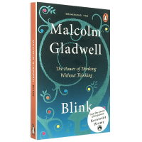 正版 Blink 眨眼之间 不假思索的决断力 英文原版经济管理书籍 决断2秒间 英文版 进口英语书籍