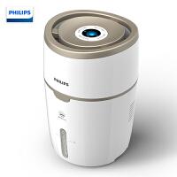 飞利浦(PHILIPS)加湿器 上加水 自动湿度设置 纳米无雾恒湿 静音卧室办公室家用加湿 HU4816/00