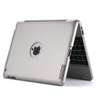 IKODOO 苹果iPad2/3/4无线蓝牙键盘保护套 内置4000毫安移动电源 ipad4充电宝键盘 New ipa