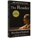正版现货 朗读者 英文原版小说 The reader 阅读者 全英文版进口英语书籍 电影小说原著