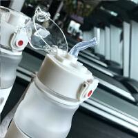 女士水杯便携式大容量运动水壶骑行户外室内健身专用运动杯子