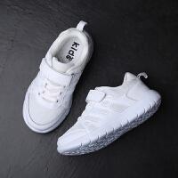 儿童运动鞋 男女童网布平底低帮纯色休闲鞋春季韩版新款时尚舒适中大童款式鞋子