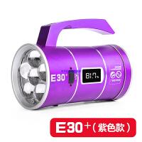 钓鱼灯 夜钓灯蓝光三光源强光超亮电池充电钓鱼灯支架手电筒