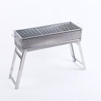 烧烤炉架子碳烤炉折叠烧烤架子木炭烤肉BBQ礼品便携木炭烧烤炉折叠野外烧烤炉架子