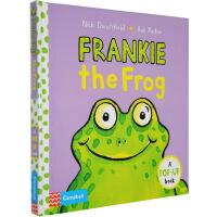 Frankie Frog 英文原版 青蛙立体书 英语启蒙儿童书