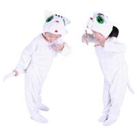 宝宝表演衣服儿童演出服女冬跳舞蹈衣小猫咪动物服装套装男春秋季