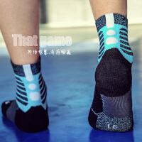 精英篮球袜子运动男夏季长中高筒毛巾女士跑步登山 足球训练袜