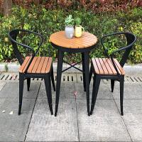 户外桌椅组合庭院室外台休闲花园外摆咖啡厅奶茶店桌椅三五件套