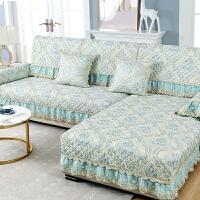 欧式沙发垫四季通用防滑坐垫子加厚北欧简约全包套罩盖布靠背
