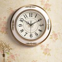 客厅装饰壁挂表大气美式家用石英钟欧式简约复古挂钟时尚轻奢钟表