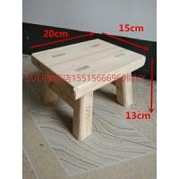 实木小凳子 小方凳松木小板凳矮凳香樟木凳方凳学习凳换鞋凳