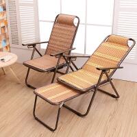 竹躺椅夏天凉椅子折叠午休躺椅夏季乘凉阳台竹椅老人午休午睡躺椅
