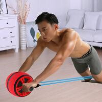 健腹轮腹肌男收腹女初学者马甲线运动健身器材家用减肚子滚轮静音
