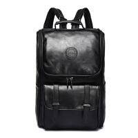 茉蒂菲莉 双肩包男 学院风学生书包双肩包潮休闲背包电脑背包