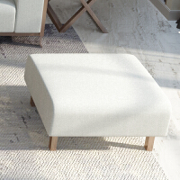 北欧风格实木沙发现代简约橡木小户型网红可拆洗乳胶整装布艺