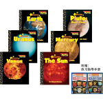 Scholastic News Nonfiction Readers 英文原版绘本 The Outer Solar S
