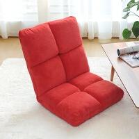 日式懒人沙发单人可折叠床上靠背椅子榻榻米飘窗休闲电脑椅
