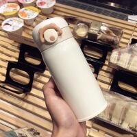 304不锈钢创意ins水杯大容量保温杯男女学生韩版可爱防摔简约杯子