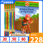 英文原版小说 稀奇古怪小朱迪系列和她的伙伴 10册全套 Judy moody and friends 情商启蒙校园正能