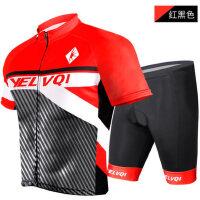 骑行服短袖套装骑行短裤加厚硅胶坐垫服男女自行车山地车装备