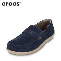 【秒杀价】Crocs卡洛驰新品男士低帮休闲舒适轻便领尚沃尔卢麂皮便鞋|15940 领尚沃尔卢麂皮便鞋