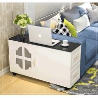 20190816020549224客厅可移动沙发边几边柜简约角几电话桌欧式小茶几储物扶手置物架