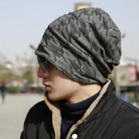帽子男嘻哈帽街头潮人青年护耳韩版潮款针织毛线包套头帽