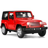 JEEP吉普 越野车模 声光合金汽车模型 儿童礼品玩具
