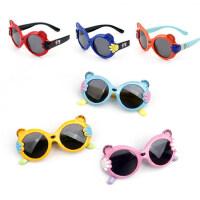 儿童户外太阳镜软质镜框宝宝墨镜可爱男女童偏光眼镜卡通潮款