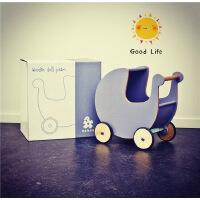 出口木质儿童学步车手推车宝宝婴儿助步车多功能调速木制益智玩具