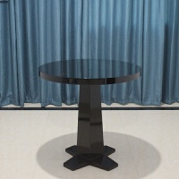 欧式实木椅子新古典洽谈桌椅用餐椅酒店美容院椅子售楼处接待椅