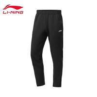 李宁卫裤男士2020新款训练系列冬季男装收口运动长裤AKLQ625