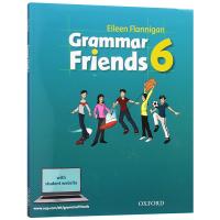 牛津小学英语语法书 英文原版 Oxford Grammar Friends 6 和语法做朋友 涵盖剑桥少儿英语考试语法寒