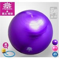 奥义@加厚防爆瑜伽球孕妇减肥瑜珈球郑多燕瘦身健身球