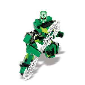 【当当自营】小鲁班星际变形机甲系列儿童益智拼装积木玩具 究极机甲-阿瑞斯M38-B0213