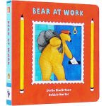 英文原版 Bear at Work 纸板书 Barefoot