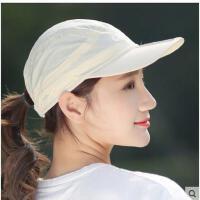 可折叠帽子女户外钓鱼帽大沿遮阳帽女士渔夫帽防晒太阳帽