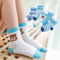 儿童袜子时尚纯棉婴儿秋冬厚款男孩冬季中筒袜女童男童宝宝毛圈袜童袜